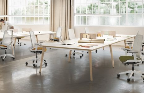 Mesa de oficina operativa Timber