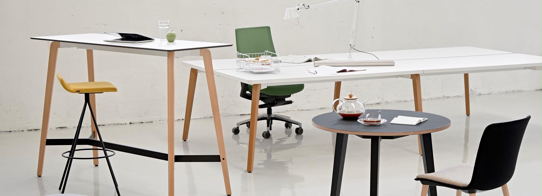 mesa estilo nórdico tiember