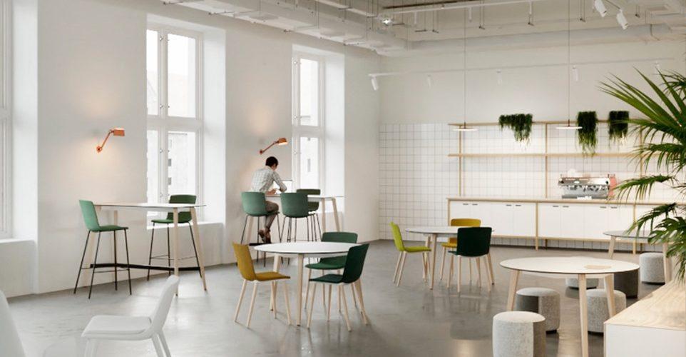 mesa estilo nordico timber