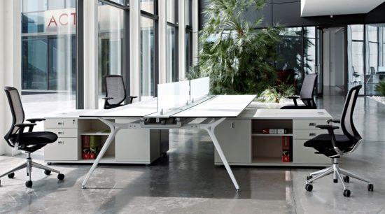 Mesas operativas equipamiento integral de oficinas for Tipos de mobiliario de oficina
