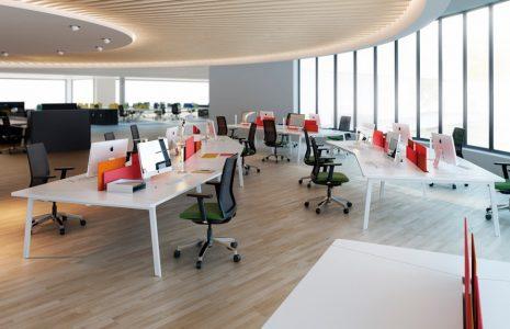 Mesas de oficina: Diseños originales que se adaptan al espacio