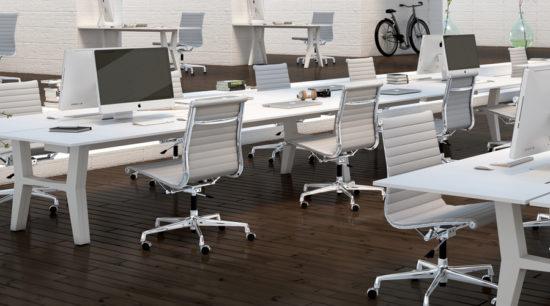 Mesa de oficina operativa Ponte