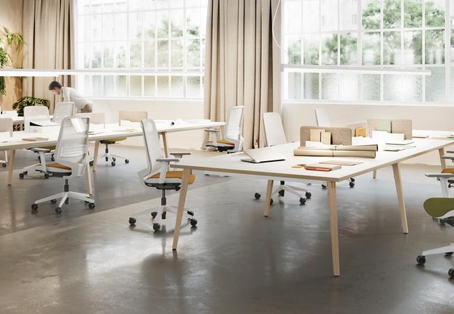 mesa estilo nórdico timber