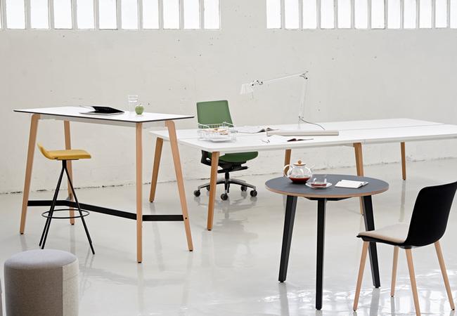mesa timber estilo nordico