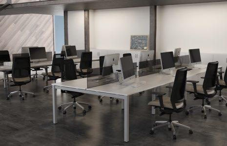 Soluciones de mobiliario de oficina para equipos de trabajo