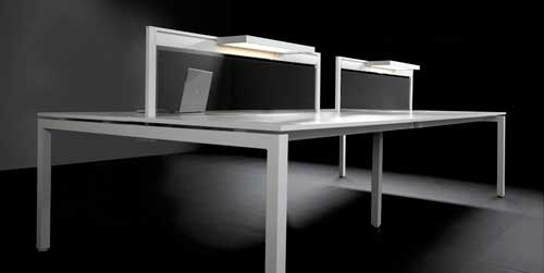 mesas de oficina con electrificacion
