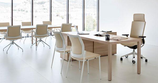 Mesa de direcci n prisma equipamiento integral de oficinas - Equipamiento integral de oficinas ...