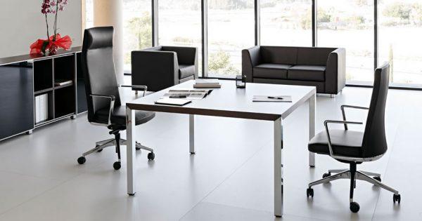 Mesa de reuni n prisma equipamiento integral de oficinas - Equipamiento integral de oficinas ...