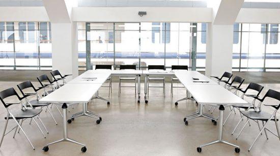 Mesa de Reunión Trama