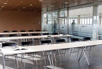 Mobiliario ideal para espacios didácticos y de formación