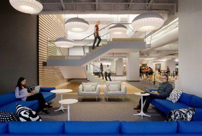 5 efectos psicológicos del color en la oficina