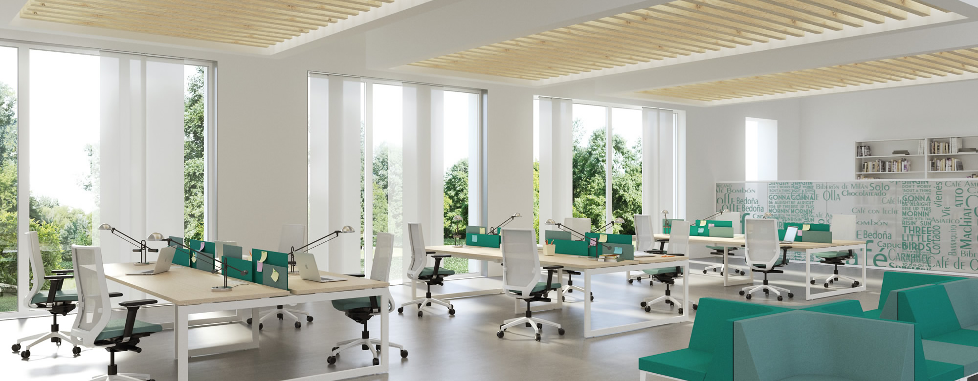 Muebles de oficina mesas de oficina y mobiliario de for Distribucion de oficinas