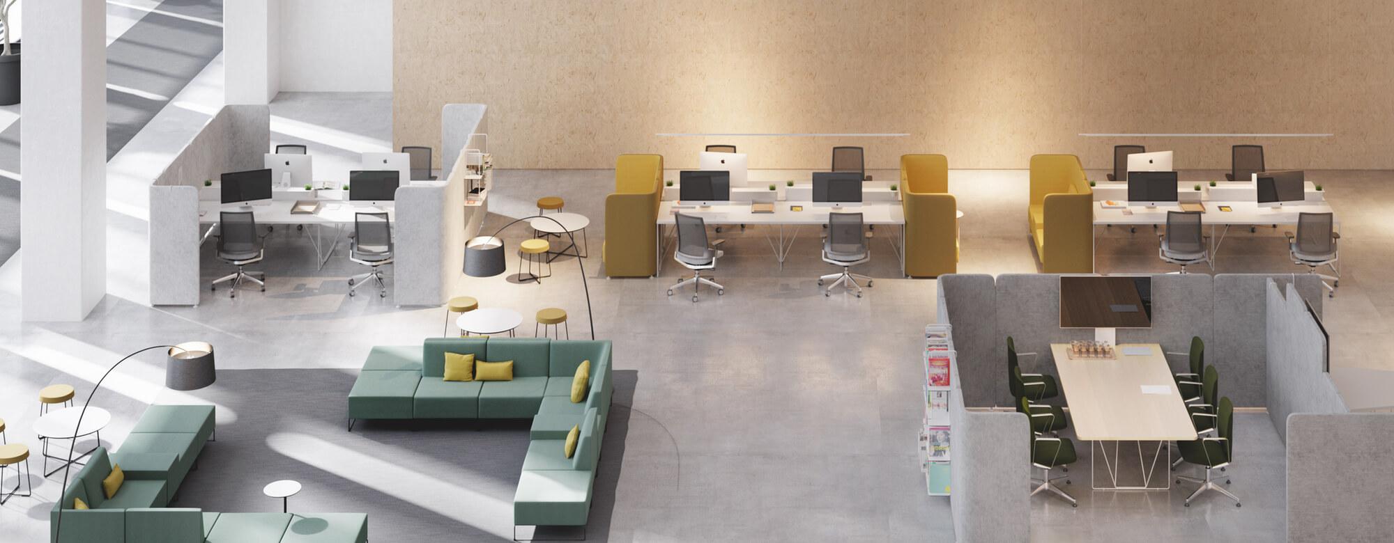 Muebles de oficina mesas de oficina y mobiliario de for Muebles modernos para oficinas pequenas