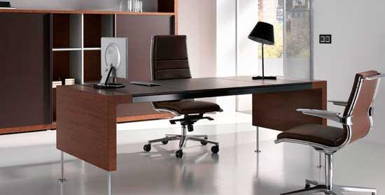 Mobiliario de oficina minimalista equipamiento integral - Mobiliario minimalista ...
