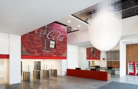 Hacemos un repaso a las oficinas de Coca Cola en Londres