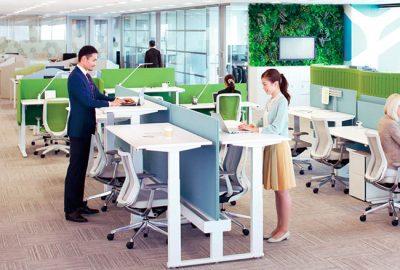 Okamura se incorpora al catálogo de sillería de Equipamiento Integral de Oficinas