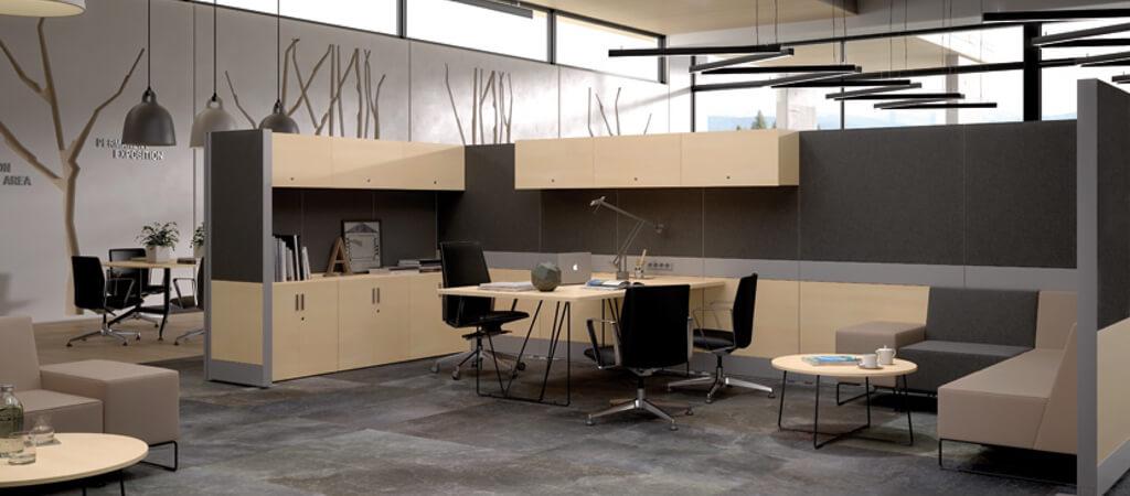 paneles de oficina