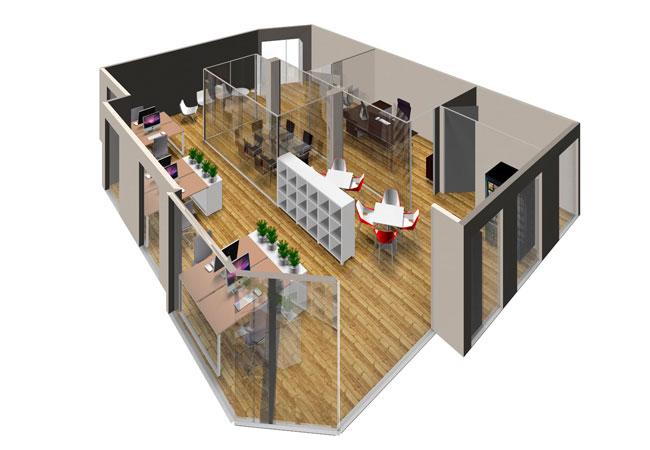 El dise o de tu oficina paso a paso equipamiento for Muebles oficina 3d gratis