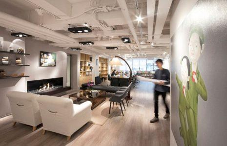 Nueva tendencia: espacios para reuniones improvisadas