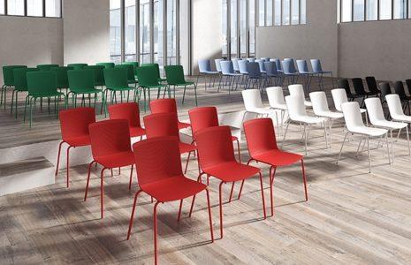 Las sillas que necesitas para las salas de formación en la oficina