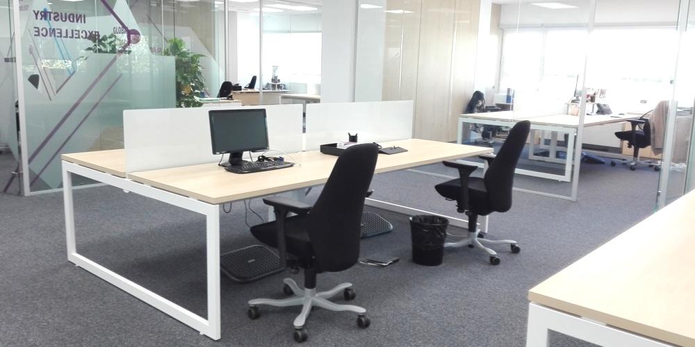 Ampliación de oficinas, redistribución de espacios, interiorismo y mobiliario