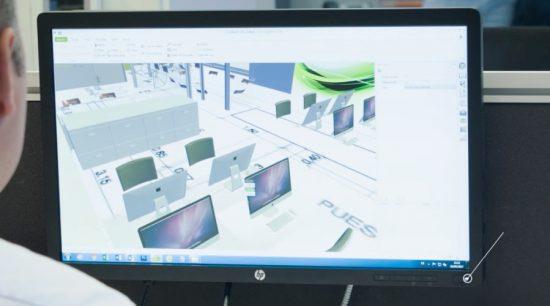 Diseño y planificación de oficinas
