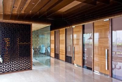 Puertas en la oficina