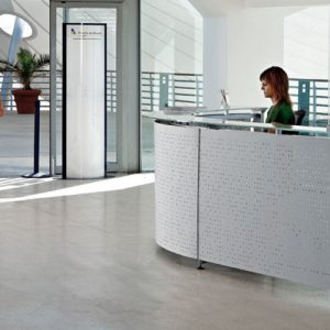 Recepción de oficina Informa Blanco