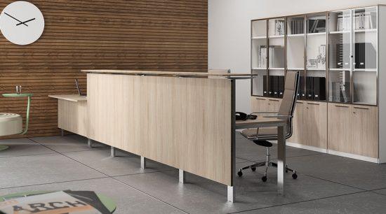 Recepciones de oficina equipamiento integral de oficinas for Areas de una oficina