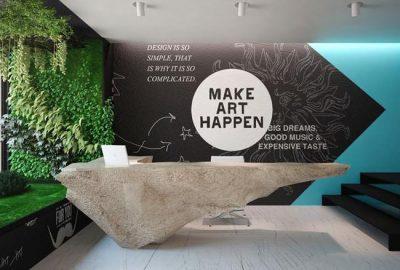 4 ideas para la creación de la recepción de tu oficina