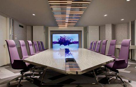 Escoja la mesa de reunión acorde a sus necesidades