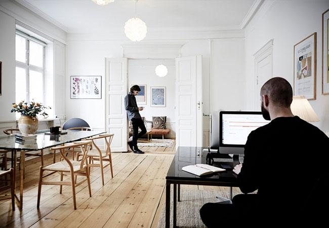 2 ejemplo de oficinas peque as pero funcionales for Ejemplos de oficinas