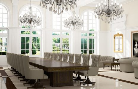 Mobiliario de oficina clásico, y con estilo