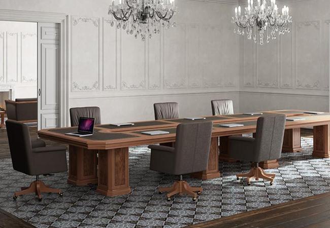 Salas de reuniones para oficinas clásicas
