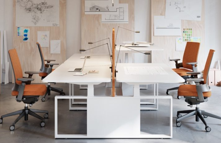Espacio de trabajo regulable Skala
