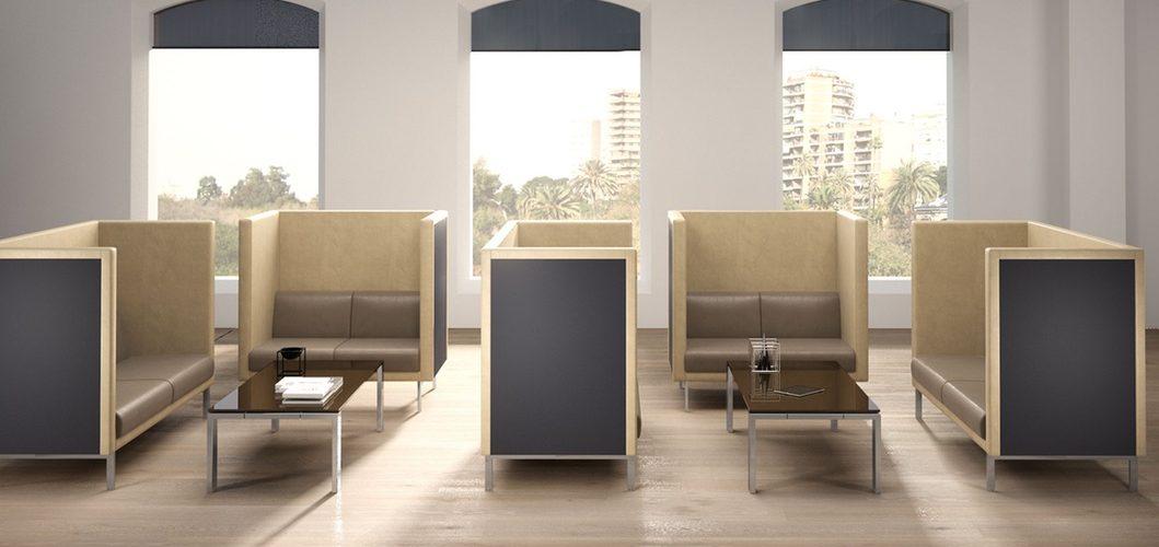 salas de espera con estilo