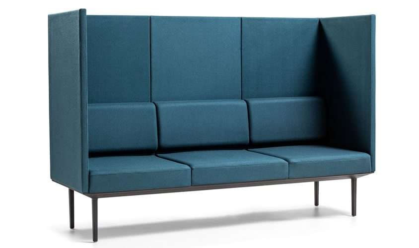 Sofá de Oficina Soft Seating Longo