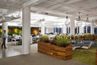Reformar la recepción de su oficina sin necesidad de obra