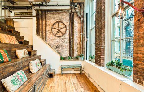 2 ejemplos impresionantes de oficinas de Coworking