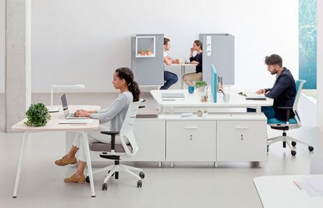La versatilidad de la mesa de oficina Twist