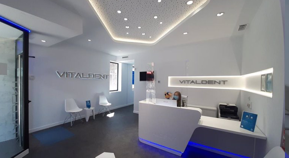 recepcion clinica dental plasencia vitaldent