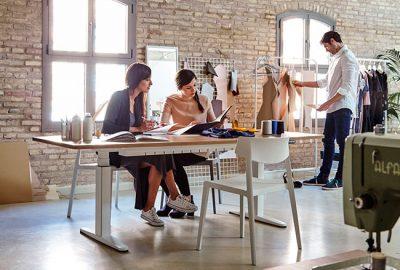 Silla Wing, estilo vintage para tu oficina