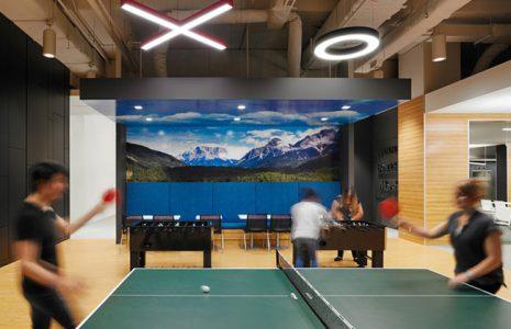 Tipos de zonas de descanso innovadoras para oficinas